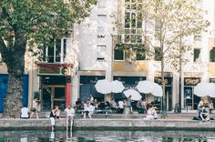 canalsaintmartin06 Canal Saint Martin, Around The Worlds, Street View, Places, Lugares