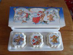 VINTAGE NEW BOXED AVON JOYS OF CHRISTMAS 3 BARS OF FESTIVE SOAP | eBay