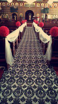 Damask And Crystal Wedding Decor Full Kit