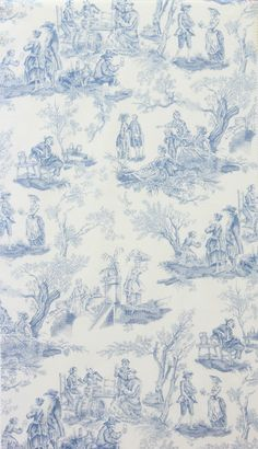 Perfect Toile!! Super classy, and subtlely spooky.   ...just prepare for me to pin every single fabric on the Alexander Henry site because I'm in love with it all.