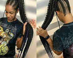 Braided Wig Ghana weaving wig wig wigs fir women Braids | Etsy