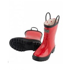Hately Red RainBoots