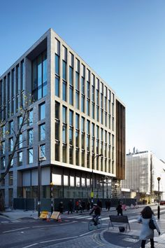 London firm Hawkins\Brown completely overhauled the Bartlett's former campus to create the new 8,500-square-metre building