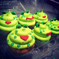 Yummy+Frogs+Cupcakes