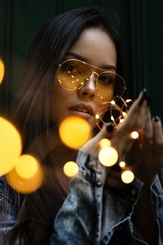 Close-Up Photo of Woman Holding String Lights Fairy Light Photography, Creative Portrait Photography, Self Portrait Photography, Portrait Photography Poses, Photography Poses Women, Stunning Photography, Girl Photography Poses, Tumblr Photography, Inspiring Photography