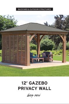 The pergola kits are the easiest and quickest way to build a garden pergola. There are lots of do it yourself pergola kits available to you so that anyone could easily put them together to construct a new structure at their backyard. Curved Pergola, Small Pergola, Pergola Swing, Pergola With Roof, Outdoor Pergola, Cheap Pergola, Wooden Pergola, Backyard Pergola, Pergola Lighting