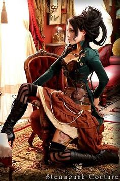 Steampunk style ~ is it bad that I absolutely love the steampunk style?