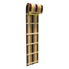 Flexible Flyer 6ft Sled || Multi-wood tone Flexible Flyer Sled. Dimensions: 72 x 24 x 72.