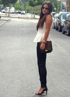 Black & White | littleblackcoconut outfits Primavera 2012 | 21-7-2012 | Truendy