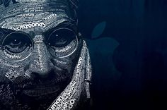 Steve Jobs portrait 4k