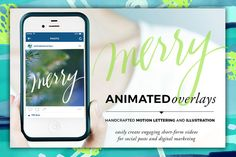 Animated Overlay - Merry (Scripted) by Baron Art Co. on @creativework247