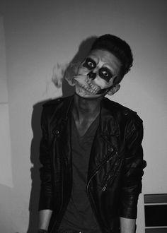 Skeleton Boy Make Up