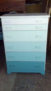 Paint your dresser ombre!
