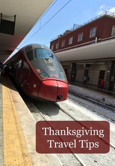Thanksgiving travel tips for families so that you aren't stressed while you should be having fun.