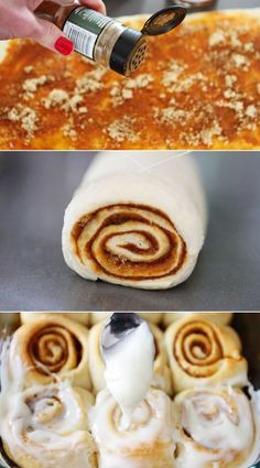 delicious cinnamon rolls that take less than 30 minutes to make!