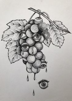 Dotted Drawings, Art Drawings Sketches Simple, Pencil Art Drawings, Bizarre Kunst, Bizarre Art, Black And White Art Drawing, White On Black Art, Black Pen Drawing, White Ink