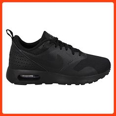 58aae268b93815 Nike Kids Air Max Tavas (GS) Black Black Running Shoe 5 Kids US