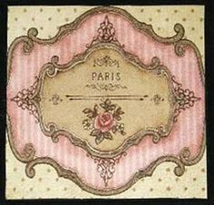 PaRiS LaBeLs / SigNs VinTaGe ShaBby WaTerSLiDe DeCALs | Crafts, Home Arts & Crafts, Decorative & Tole Painting | eBay!