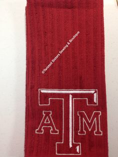 Texas A&M kitchen towels.  Red.  $15 each plus shipping