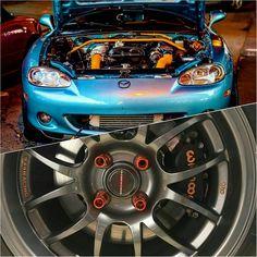 @the_kraken_mx5 #TopMiata #superchargedmiata #2001miata w/ MP62 Supercharger