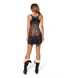 Real Virgin Printing Pleated Skirt