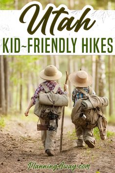 Looking for some kid-friendly hikes in Utah? Let's check out kid-friendly hikes near Salt Lake City. Utah is our home state, and so we get to enjoy the mountains all the time! We know which hikes our kids love and which ones they hate! There are so many hikes near Salt Lake City that I could not possibly list all of them.  I plan to add more to this list as I discover more amazing hikes! | Planning Away @planningaway #utahhiking #kidshikingutah #familyhiking #utahvacation #planningaway