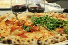 Sourdough Pizza at Franco Manca, World Food Court, Westfield, Stratford