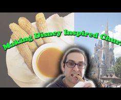 Make Disney Inspired Churros Recipe