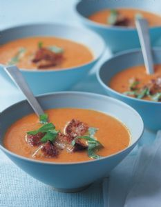 Cream of Fresh Tomato Soup --Ina Garten