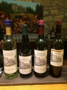 Chateau Montelena Line Up! #wine