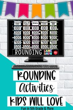These Rounding activities for upper elementary are perfect to use when introducing, teaching or reviewing rounding. Rounding can be a tough concept to grasp for some students! Includeshands on games, activities, anchor charts and more to help engage your students and help them grasp the concept! These rounding activities are great for 3rd grade, 4th grade and 5th grade.
