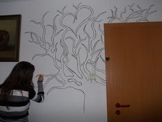drawing a tree that has a story :)