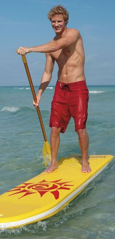 The Paddlebuoy Pro Paddleboard has been a favorite of resorts, summer camps, and professional lifeguards for over 50 years.