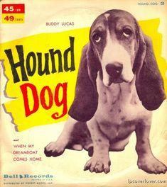 Hound Dog lp  via lpcoverlover.com