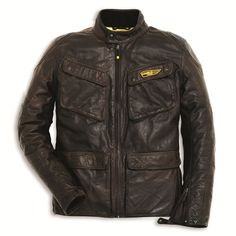 Ducati Scrambler Leather Jacket: 9810312