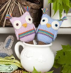 Ravelry: Owl Baby Rattles pattern by Victoria Williams