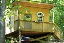 treehouse camping!
