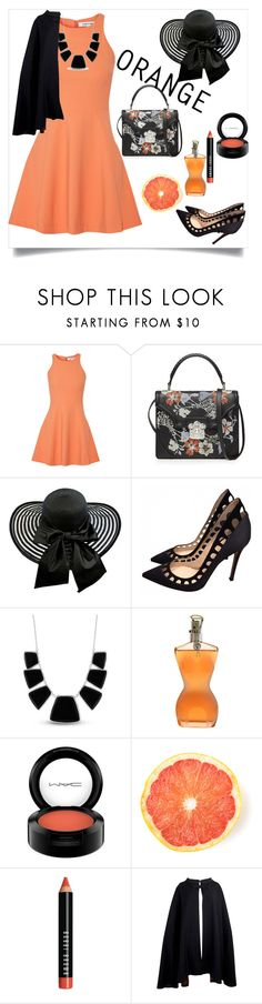 """""""Untitled #256"""" by jovana-p-com ❤ liked on Polyvore featuring Elizabeth and James, Alexander McQueen, Gianvito Rossi, Karen Kane, Jean-Paul Gaultier, MAC Cosmetics, Bobbi Brown Cosmetics and Pierre Cardin"""