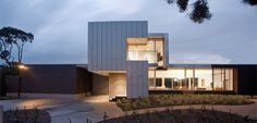 Vibe Design Groupdesigned the Tramway House for a family in Melbourne, Australia.