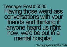 We're not teenagers, but this totally applies to me and my BF.
