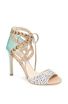 'Hexen' Lace-Up Ankle Strap Sandal