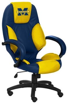Michigan Wolverines Executive Chair My next office chair