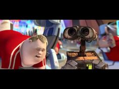 This is a clip from Wall-E. It illustrates the future dystopia we're headed to.