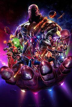 Avengers: Infinity War (2018) - Fan Poster by https://camw1n.deviantart.com on @DeviantArt