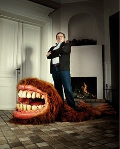 If It's Hip, It's Here: Monster, Beast & Bear Rugs - Oh My!