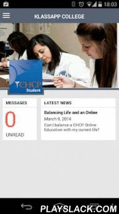CHCP Student App  Android App - playslack.com , The College of Health Care Professions (CHCP) provides affordable education and training for health care careers that are in high demand. CHCP is committed to providing comprehensive and forward thinking learning in the classroom and through hands-on training in the field. The CHCP Student App, powered by Klass App, is a next generation, student management system that provides each student, graduate and alumni a unique personalized experience…