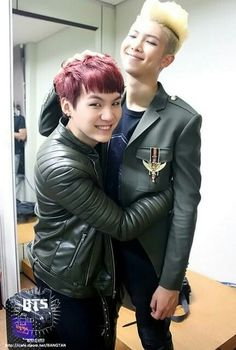 Suga & Rap Monster