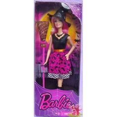 Barbie Halloween Witch Costume Doll New in Box! Barbie Halloween, Halloween 2014, Mattel Dolls, Toy Sale, Kids Toys, Witch, Popular, Costumes, Contemporary