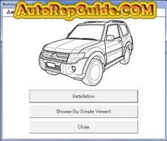 Download free - Mitsubishi Pajero IV (MUT III) repair manual: Image:… by autorepguide.com
