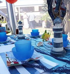 Nautical sailor sea theme party hire package for kids in Perth, WA